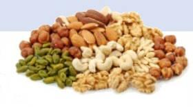 An image of Almonds, Brazil Nut, Cashew Nut, Hazelnut, Peanut, Pistachio, Walnut, Coconut, Flax Seed, Sesame Seed, Sunflower Seed, Cocoa Bean, Green Bean, Haricot goes here.